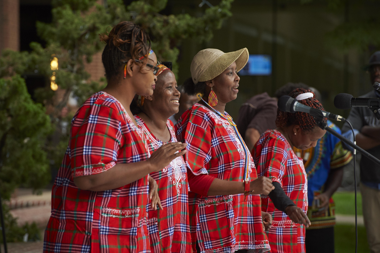 Samburu Dancers Rafiki African Festival Lancaster PA